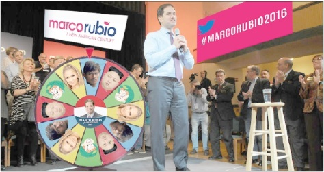 Rubio's Lucky Break. Marco Rubio announces his niche bigotry for the Republican race.