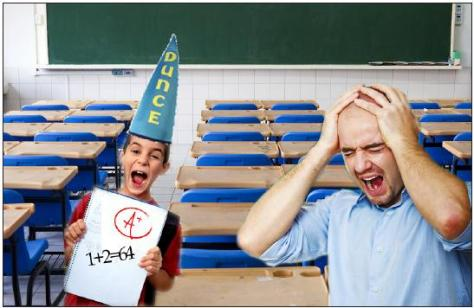 """""""IT HURTS TO GIVE IDIOTS GOOD GRADES!"""" Thomas DePaolo, a local educator, never anticipated he'd be on the giving side of grade inflation after graduating the School of Engineering."""