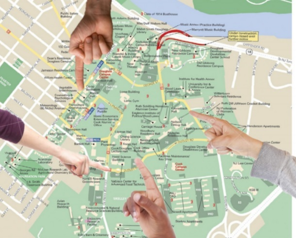 Rutgers Douglass Campus Map.Existence Of Cook Campus In Question The Medium