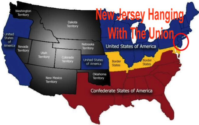 Student From South Jersey Finds Out Area Was Part of Union