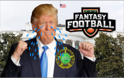 Trump Places Dead Last in Government Fantasy Football League