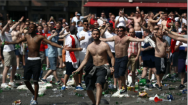 English Soccer Hooligans Ecstatic over new Fight Club