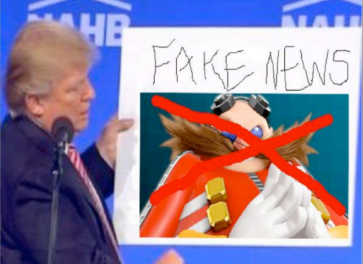 Trump Spends State of the Union Address Talking About how he Doesn't Look Like Dr. Robotnik