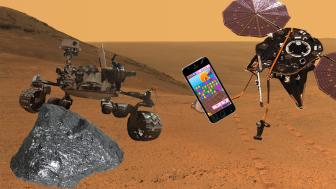 NASA's Mars InSight Lander Really Needs to get Shit Together