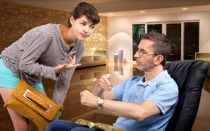 Divorced Dad Gives Relationship Advice, Like he's one to Fucking Talk
